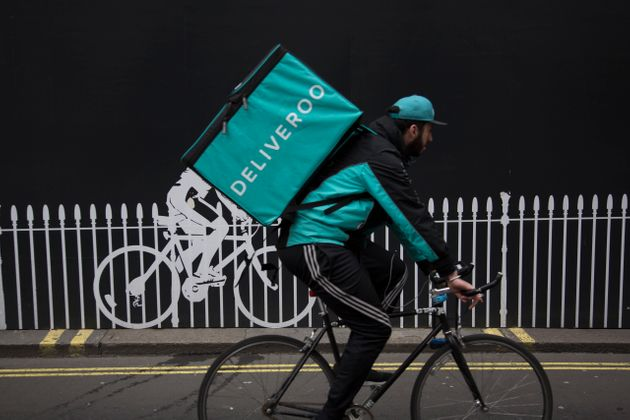 The sight of Deliveroo drivers has become a common one in the UK's big