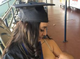 Mom Of 3 Celebrates Graduation With Inspiring Breastfeeding Photo