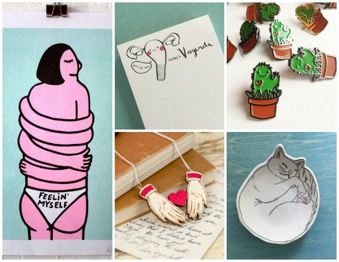 18 Artsy Adorable Gift Ideas From Indie Illustrators