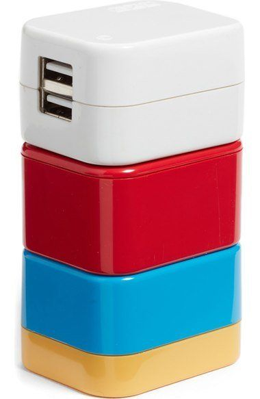 """5-in-1 Universal Travel Adapter, $35 at <a href=""""http://shop.nordstrom.com/s/flight-001-5-in-1-universal-travel-adapter/44438"""