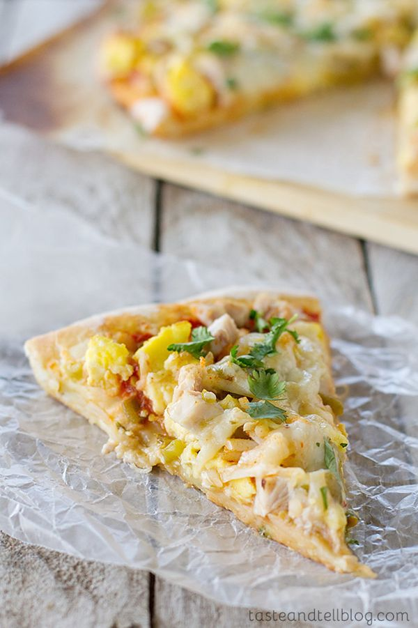 "<strong>Get the <a href=""http://www.tasteandtellblog.com/mexican-turkey-breakfast-pizza/"" target=""_blank"">Mexican Turkey Brea"