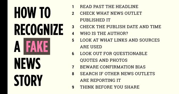 How To Recognize A Fake News Story | HuffPost