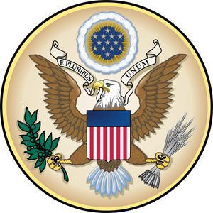 Seal of the United States.