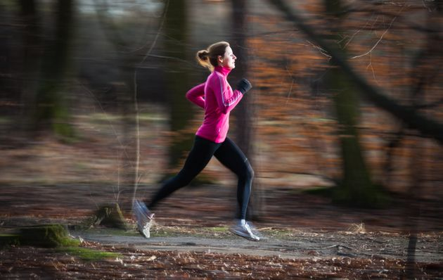 Approximately 57 percent of race finishers are women, according to a