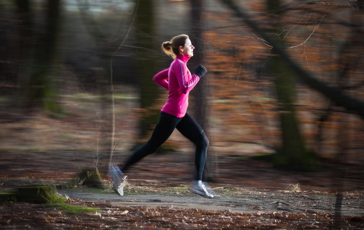 Approximately 57 percent of race finishers are women, according to a report.