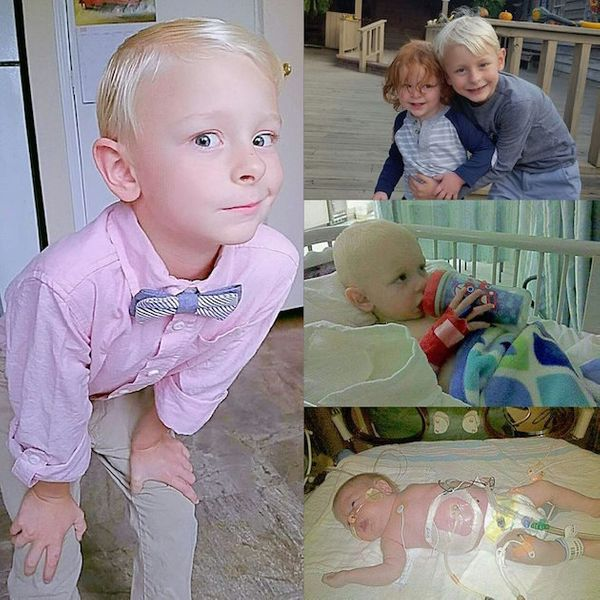 """We were told at 16 weeks that Elijah had posterior urethral valve obstruction and it was unlikely he'd survive t"