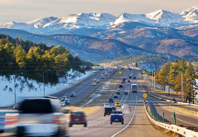 It is exactly 100 miles on I-70 from Denver to Vail, but if you drive direct, you will miss a lot.