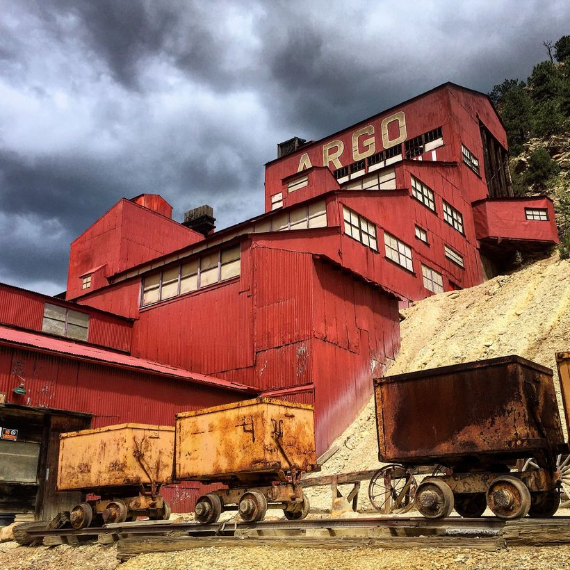 The Argo Gold Mill processed more than $100 million of gold.