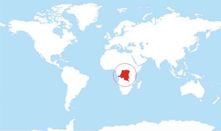 The Democratic Republic of Congo, where most cases of sleeping sickness occur.