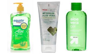 Testing on storebrand aloe vera products sold at Walmart CVS and Target found no evidence of aloe