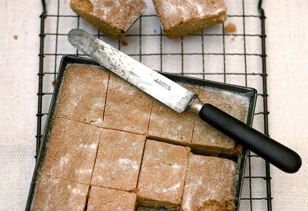 Jamie Oliver says shortbread is a great dessert if you're unsure what to make (especially if it's for a party where there wil