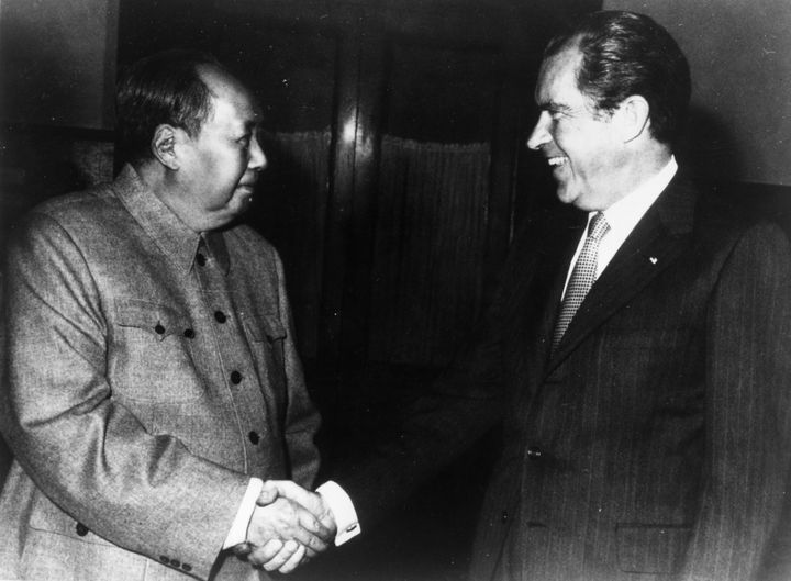 In an unprecedented move at the time, China's Chairman Mao hosted President Richard Nixon, opening a major window of di