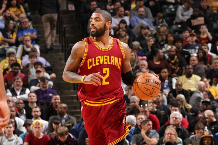 "Kyrie Irving of the Cleveland Cavaliers tweeted on Tuesday that his ""prayers and thoughts are with everyone protesting at Sta"