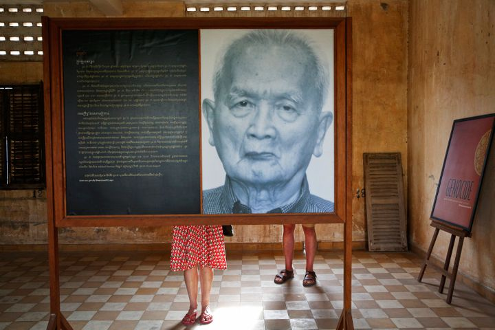 Most Cambodians still want justice for the victims of the Khmer Rouge, and to see Nuon Chea (above), Pol Pot's right-hand man