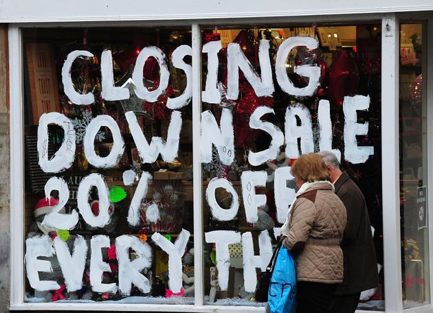 King warned that a big retailer could be at risk of failure in the