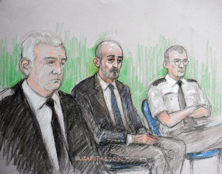 Mair was also found guilty of causing grievous bodily harm, possession of a firearm with intent and possession of a dagger