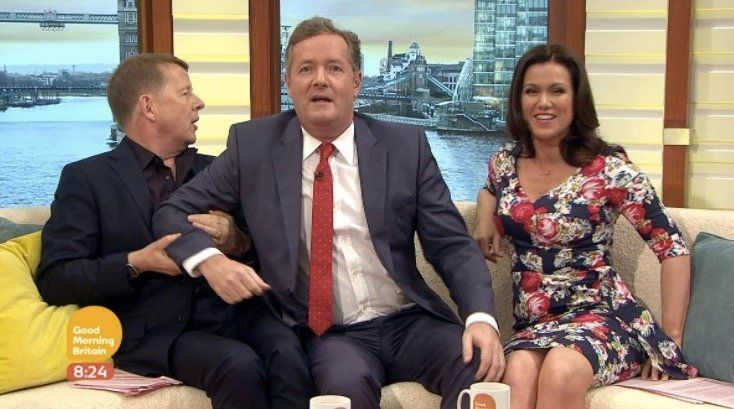 Piers Morgan Seethes With Jealousy As Susanna Reid Reunites With Bill