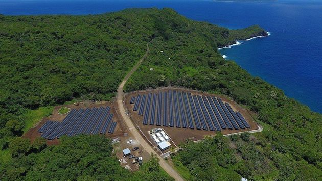 This Entire Island Is Powered Using Only Solar Power And