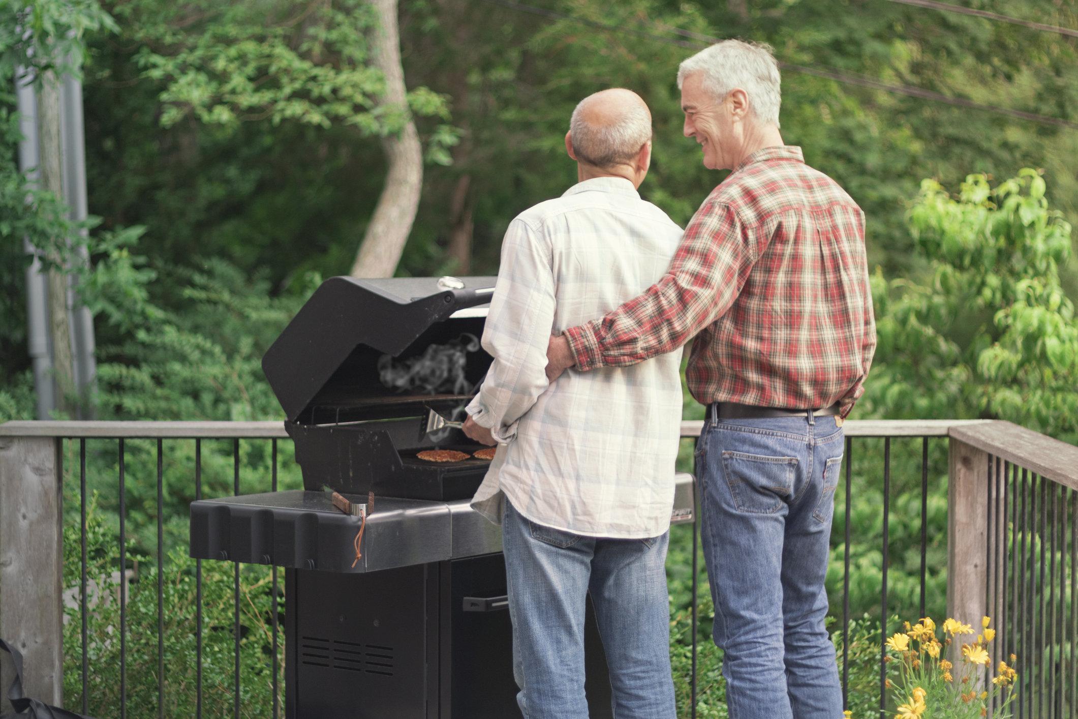 Older mature gay men