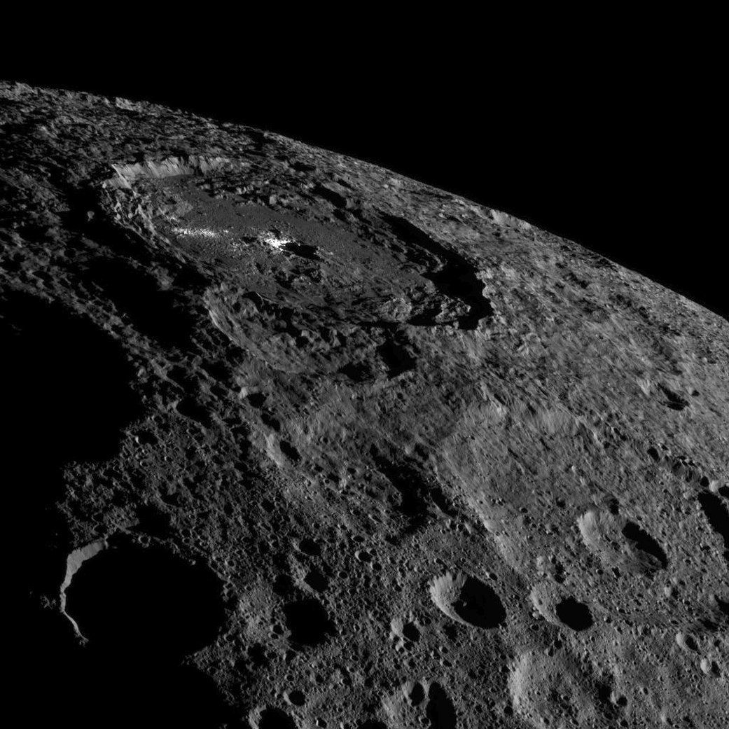Scientists Have Finally Solved The Mystery Of Ceres' 'Bright