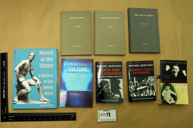 Mair's book collection included volumes on Hitler