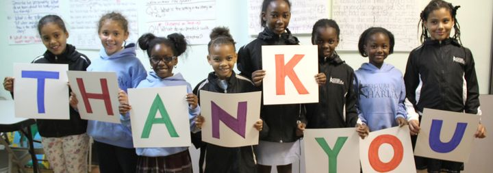 When their not working out on the ice, girls at Figure Skating in Harlem polish their academic skills, thanks to grants from