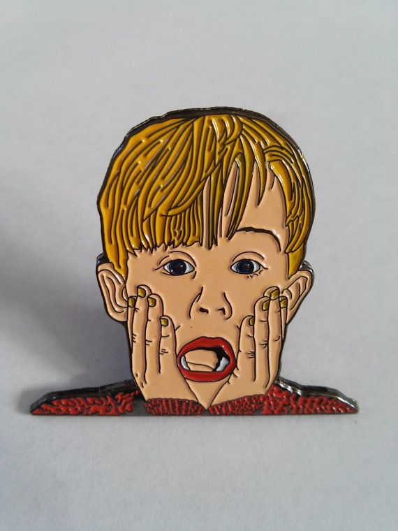 """<a href=""""https://www.etsy.com/listing/247247392/the-screaming-boy-lapel-pin"""" target=""""_blank"""">Wear this pin</a> so that when y"""