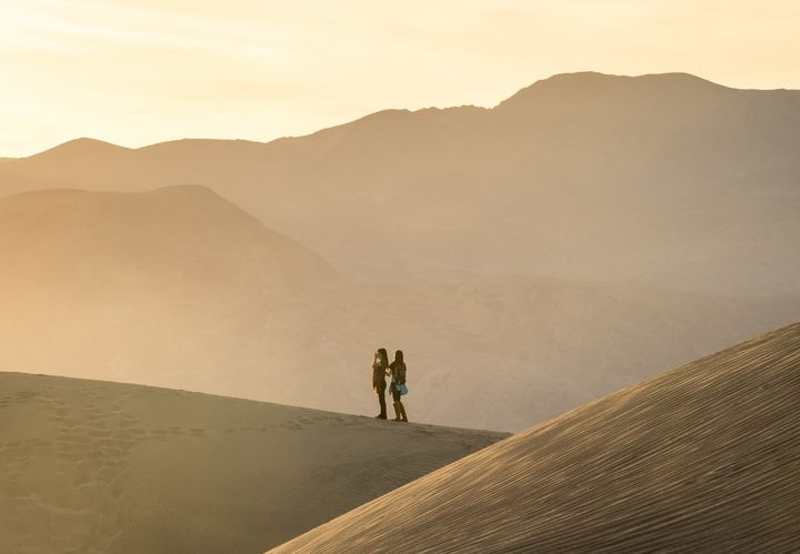 Death Valley was one of the many breathtaking landscapes they got to see.