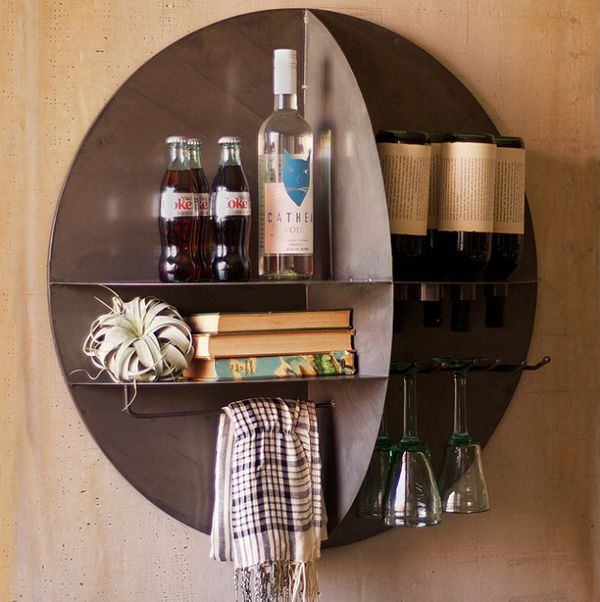 """<a href=""""http://www.uncommongoods.com/product/wall-wine-bar"""" target=""""_blank"""">Wall Wine Bar</a>, $289.99 on <a href=""""http://ww"""