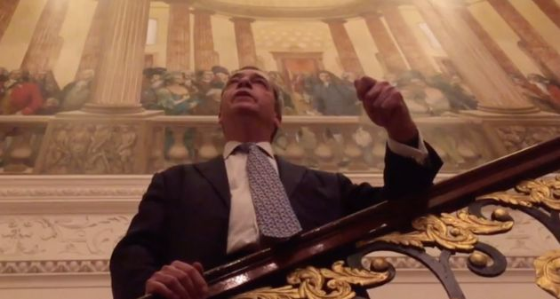 Nigel Farage Celebrates At Ritz Party As Brexit To Cost UK Economy £60