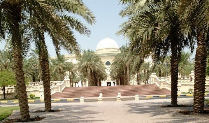 American University of Sharjah, where I studied and lived from September 2013 to January 2014