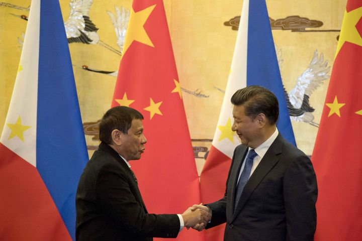 Duterte has indicated he may move his country closer to China.
