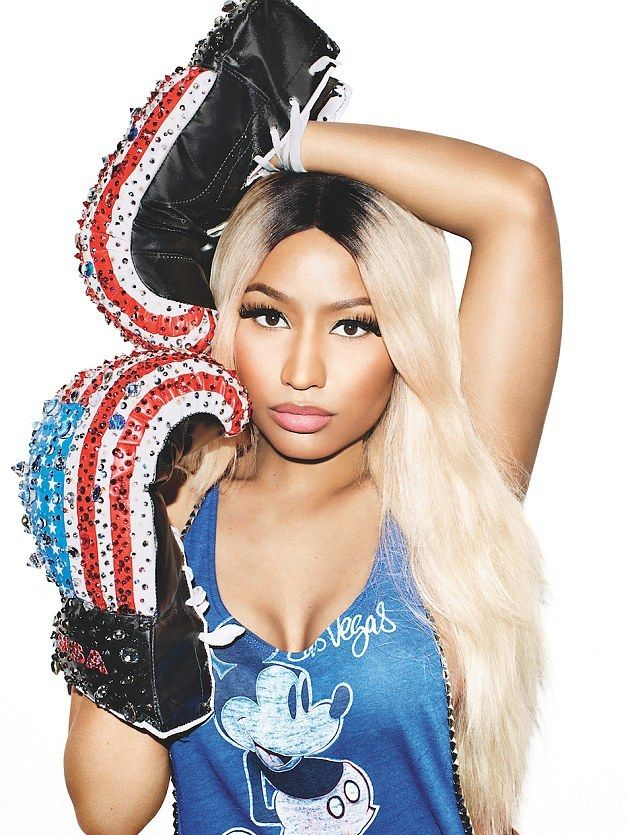 Nicki Minaj fighting for the American Dream