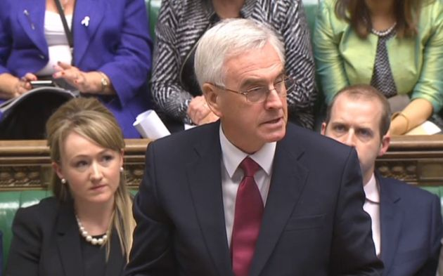 Shadow chancellor John McDonnell admitted it 'doesn't look good' for Labour MPs to be on their...