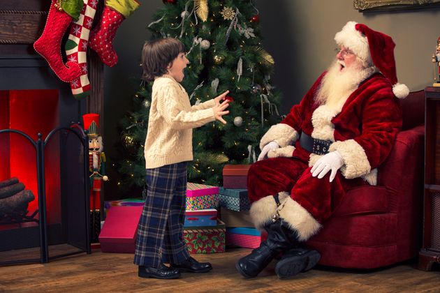Parents Told Lying To Kids About Santa Could Be Damaging, But Not Everyone