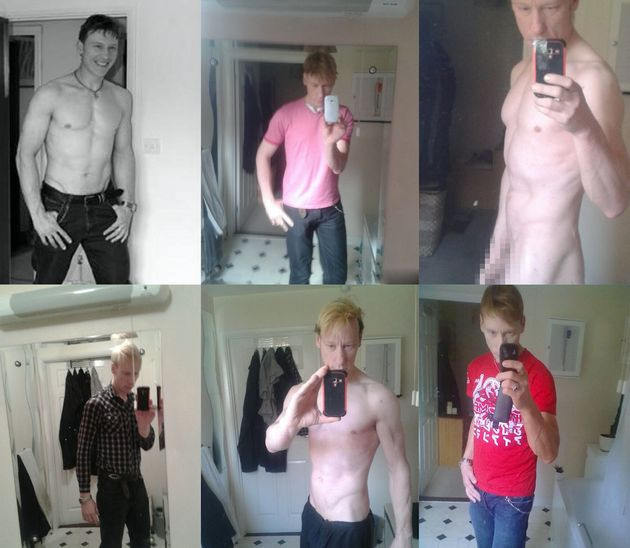 Photos of Port, 41, in his many online dating app