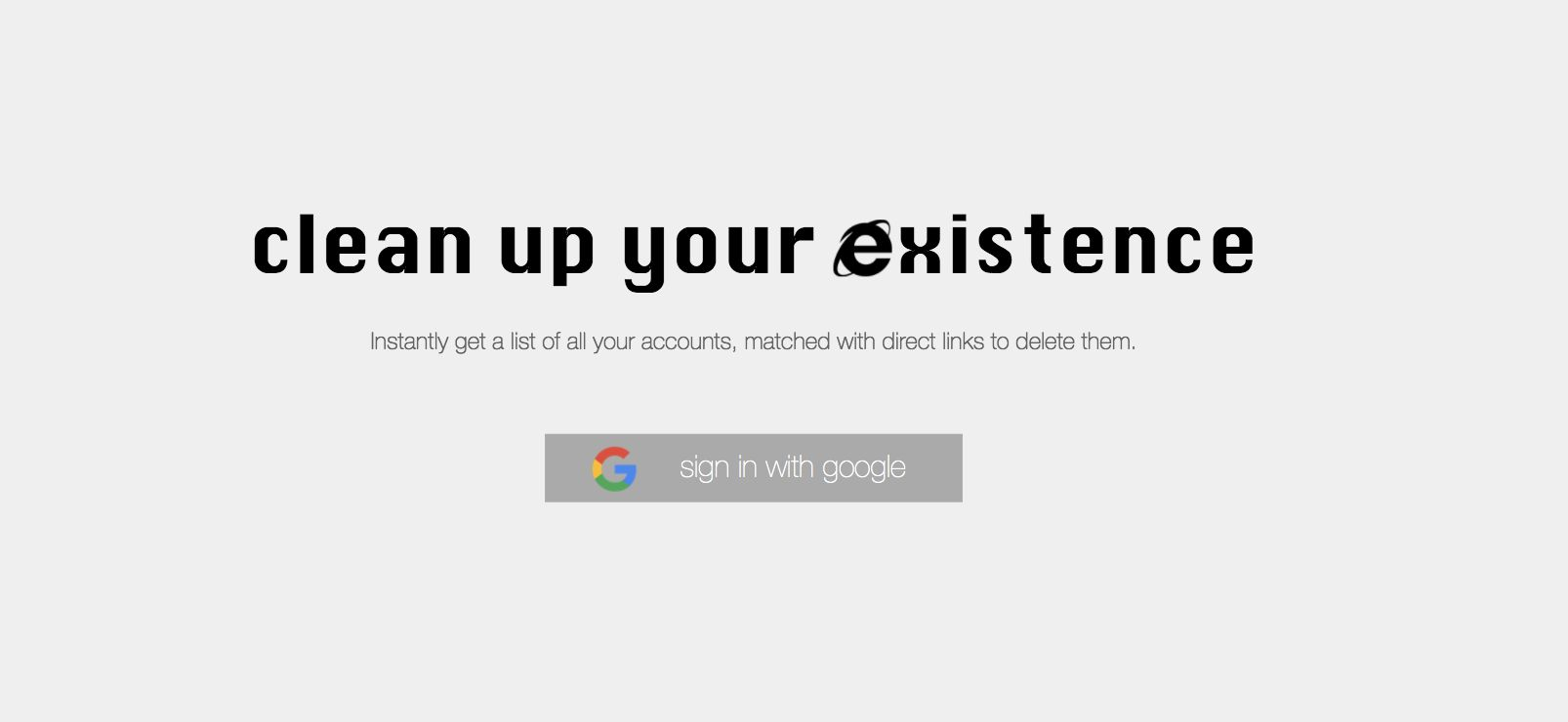 You Can Delete Yourself From The Internet With Just A Single