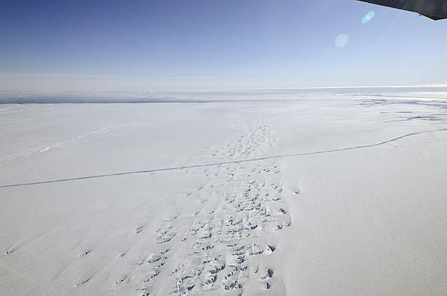 Huge Antarctic Glacier Actually Starting Irreversibly Melting In The