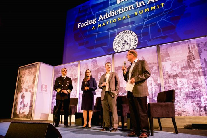 The Surgeon General launch event with Facing Addiction on 11/17/16.