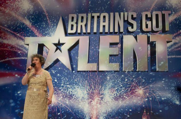 Susan performs 'I Dreamed A Dream' for the 'BGT'