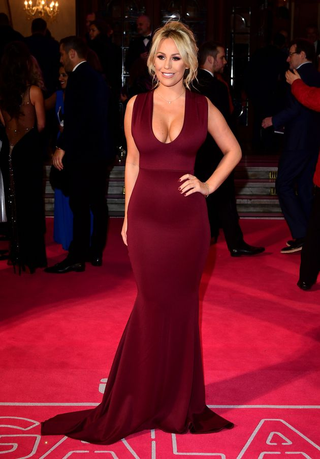 ITV Gala 2016: Holly Willoughby And Michelle Keegan Lead The Best Dressed Celebs On The Red