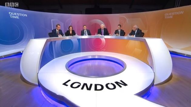 BBC Question Time: Tim Farron's Nigel Farage Speech Gains Huge