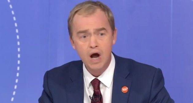 Farron said Farage did not speak for the majority of British