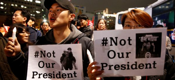 South Korean Political Crisis Hits President's Approval Rating, Consumer Confidence