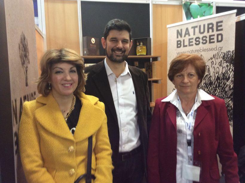 Dr. Eleni Melliou, Dr. Prokopios Magiatis and Ioanna Damianaki.