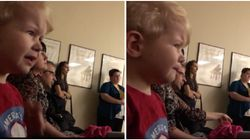 This Kid Welling Up At Sister's Piano Recital Will Make You