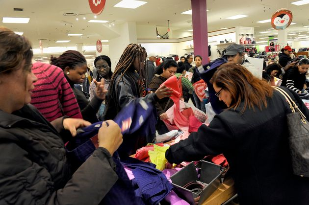 Chaotic scenes during Black Friday last