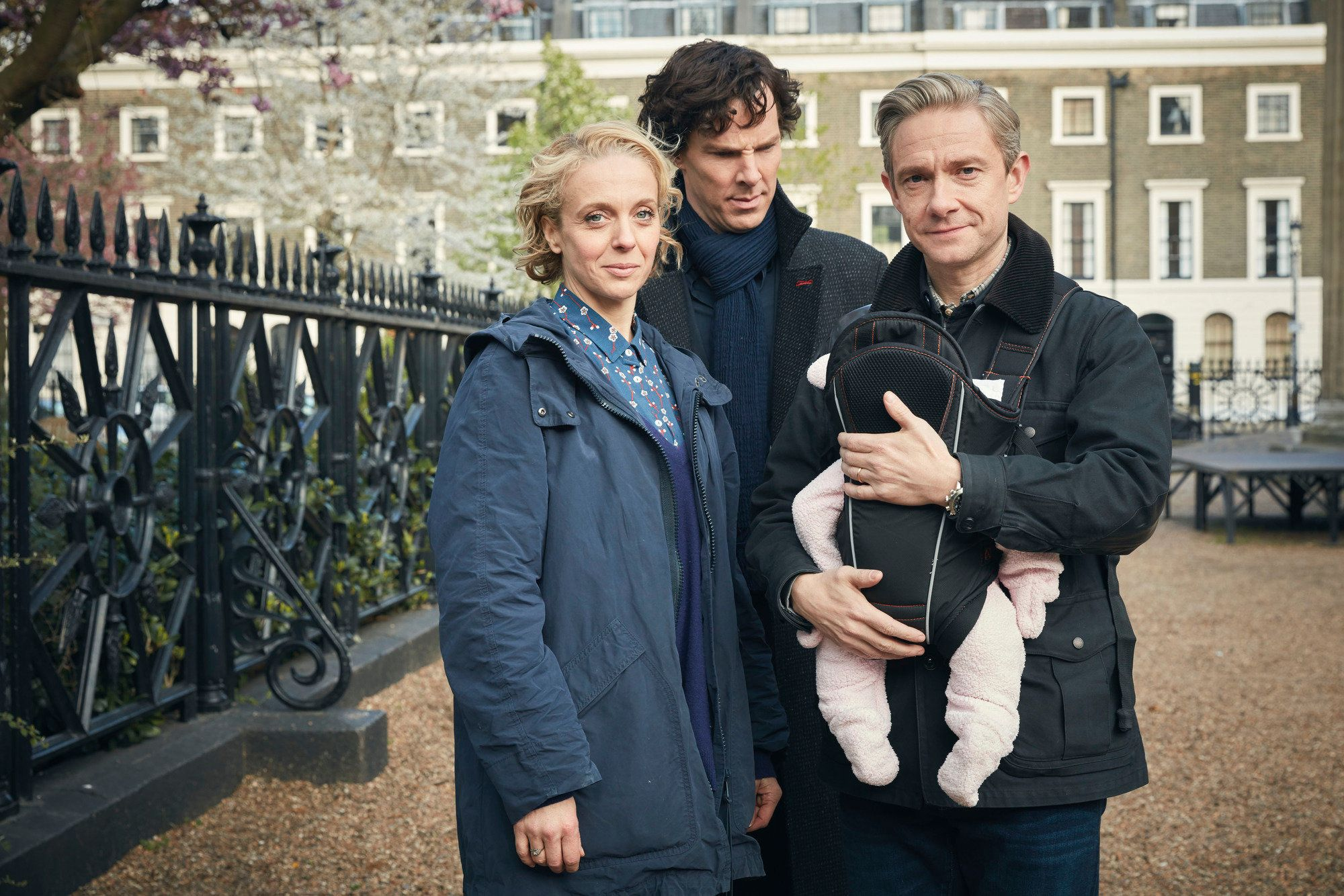 Why Is Benedict Cumberbatch Looking So Grumpy In These New 'Sherlock' Pictures?