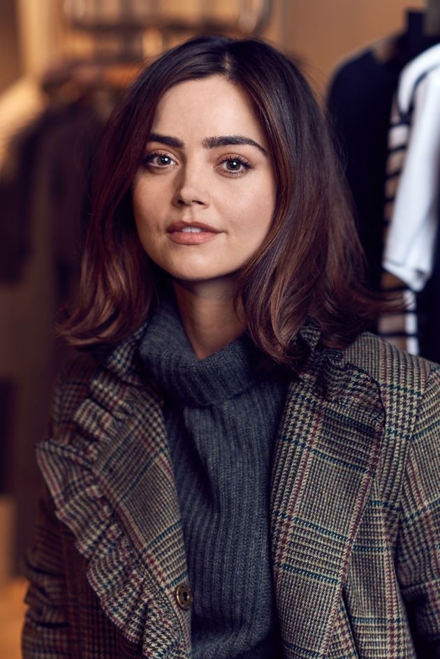 Jenna Coleman is a fan of the long, hot bath to escape the