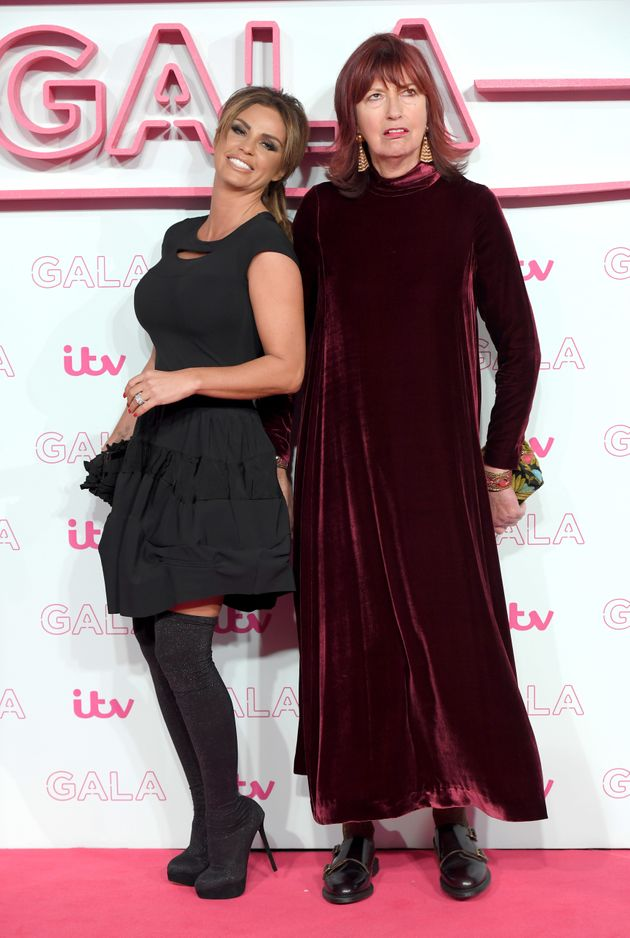 Janet with 'Loose Women' co-star Katie